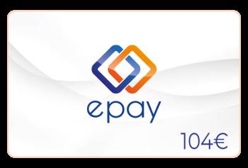 Epay Guthaben 104 Euro