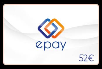 Epay Guthaben 52 Euro