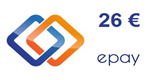 Epay Guthaben 26 Euro